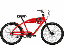 Felt Red Baron Beachcruiser Modell 2016, Tankdesign 3Gang Cruiser, Rot, Neu
