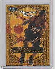 1998-99 Fleer Tradition Playmakers Theater Embossed card Allen Iverson #064/100