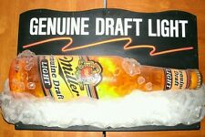 Rare Vintage Collectable Miller Genuine Draft Light Neon Bar Sign