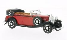 Whitebox WB058 - 1/43 SCALE MAYBACH DS 8 ZEPPELIN RED/BLACK 1930 MODEL CAR