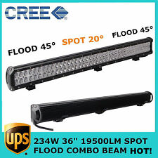 "Sale! 36"" 234W LED LIGHT BAR CREE Combo Offroad Driving For Jeep SUV 4WD Toyota"