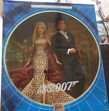BARBIE & KEN - JAMES BOND 007 COLLECTOR EDITION - GIFTSET -2002 - NEU NRFB
