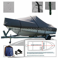 Grady-White Tournament 185 DC Trailerable indoor outdoor boat Cover Grey