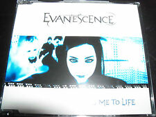 Evanescence Ft Amy lee Bring Me To Life Australian 4 Track CD Single – Like New