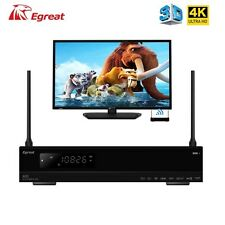 Egreat A10 4K UHD Media Player 2GB RAM /16GBMemory WIFI Gigabit LAN DTS 3D Dolby