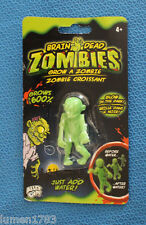 BRAIN DEAD ZOMBIES GLOW AND GROW BUG EYED ALLEY OOP CREEPY EERIE MONSTER TOY NEW