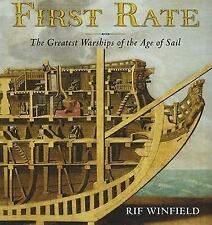 First Rate: The Greatest Warship of the Age of Sail, Naval, History, Rif Winfiel