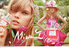 PUBLICITE ADVERTISING 065  2010  DIOR   parfum MISS  (2p)