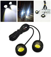 2pcs Water Proof White LED 12V Motorcycle Fog Tail Stop Light Lamp For Aprilia