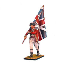 First Legion: AWI023 British 5th Foot Standard Bearer with Union Jack