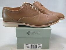 J.D. FISK Men's GAMBLE Barley Leather Cap Toe Lace-Up Oxford US 11 M 310626