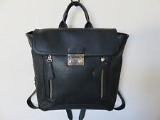 Christian Lacroix Backpack Black Faux Leather Bag