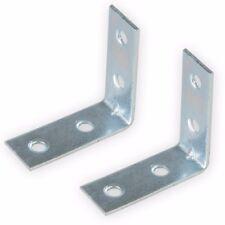 Fixman Corner Plates 83mm x 1mm Zinc Plated Steel Reinforcing Plate 686967