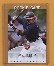 2012 LEAF JAVIER BAEZ ROOKIE RC CARD YOUNG STARS CUBS PHENOM SMOKING HOT