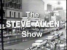 STEVE ALLEN SHOW INC ELVIS LARGEST AVAILABLE & BEST VALUE  OFFERED VOLS 1,2,3,4