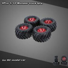 4Pcs/Set 1/10 Monster Truck Tire Tyres for Traxxas HSP HPI Kyosho RC Car 3KD5