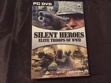 Silent Heroes Elite Troops of WWII (PC) BRAND NEW SEALED