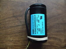 Motor Start, Starting Capacitor 200uf, 200mfd, microfarads 230V 250V 300V