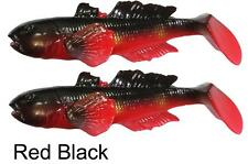 SAVAGE GEAR 3D GOBY 16cm 62g RED BLACK PIKE PERCH ZANDER SEA TROUT FISHING LURE