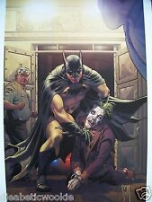 Batman Joker DC art comic print poster Dark Knight