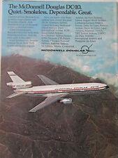 8/1973 PUB MCDONNELL DOUGLAS AVION DC-10 AIRLINER ZAIRE PAKISTAN PIA PAL AD