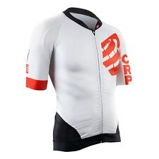 Maillot Compressport Cycling ON/OFF Jersey - Blanco- White · Talla/Size S