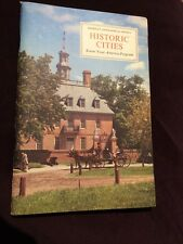 1959 American Geographical Society,Know Your America Program HISTORIC CITIES