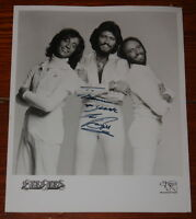 BEE GEES ~ VERY RARE HAND SIGNED OFFICIAL RSO PROMOTIONAL PHOTO ~ BARRY GIBB