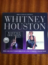 WHITNEY HOUSTON LIVE & THE ULTIMATE COLLECTION. 2CD ULTIMATE ED - NEW & SEALED