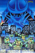 Teenage Mutant Ninja Turtles TMNT - Shredder - Original 90's - Retro Poster #3TR