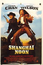 SHANGHAI NOON - Jackie Chan - Original Movie Poster - 2000 Rolled DS C7
