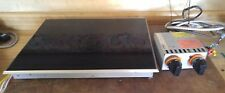 GAGGENAU VC355602 TWO BURNER CERAMIC ELECTRIC MODULAR COOK TOP WITH CONTROL BOX
