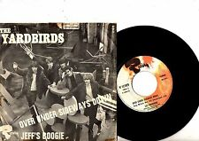 YARDBIRDS 7 PS Over Under Sideways Down FRANCE Riviera 121.079 JUKEBOX French 45