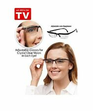 DIAL VISION Adjustable Dial Eye Glasses Vision Reader Glasses ON SEEN tv Lens