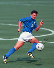 Roberto BAGGIO-ITALIA-USA'94-firmato Autograph RISTAMPA
