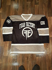 *Rare* Fear Factory (Band) Tour Memorabilia - Ice Hockey Jersey - Large
