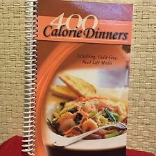 400 Calorie Dinners: Satisfying, Guilt Free, Real-life Meals CQ Products