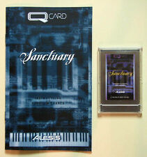 Alesis Sanctuary QCard with Booklet, Case, LIFETIME Warranty! QS Card Rare