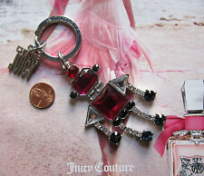 NWD Juicy Couture Key Ring fob Purse Charm Techie Robot