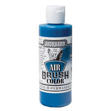 Jacquard Air Brush Colours Paint for Shoes / Sneakers - Bright Turquoise - 4oz