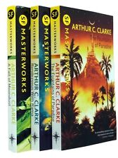 Arthur C Clarke SF Masterworks 3 Book Collection Science Fiction Classics New