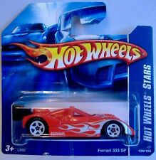Hotwheels (2007) FERRARI 333 SP - HOT WHEELS STARS  - #139/156 - 1/64