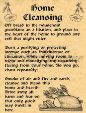 Home Cleansing, Book of Shadows Spell Page, BOS Pages, Wicca, Witchcraft
