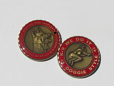 Military Working Dogs Handler Challenge Coin