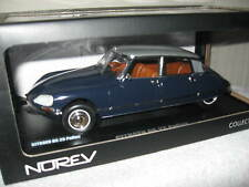 CITROEN DS 23 PALLAS DARK BLUE W/ SILVER ROOF NOREV 1:18 OPENING HOOD & DOORS