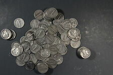 1916-1945 MERCURY DIMES, LOT OF 30 90% SILVER
