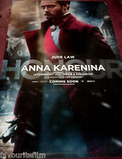Cinema Banner: ANNA KARENINA 2012 (Jude Law) Kelly Macdonald Keira Knightley