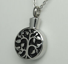 TREE OF LIFE CREMATION URN NECKLACE TREE CREMATION JEWELRY MEMORIAL KEEPSAKE URN