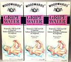 Woodwards Gripe Water 150ml x 3 Bottles Original Dill Seed oil for Baby bubbles