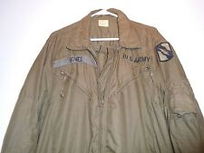 GENUINE USGI ARMY COMBAT VEHICLE CREWMEN'S COVERALLS 1980 MEDIUM REGULAR B-5